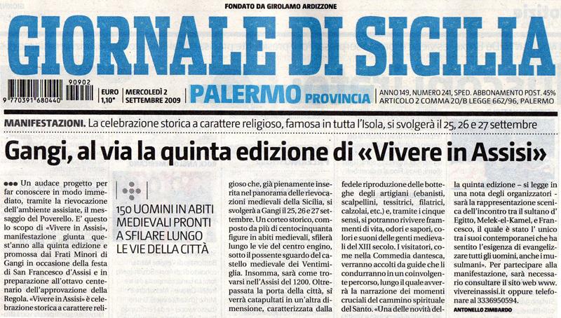 Giornale di Sicilia_2 settembre 2009