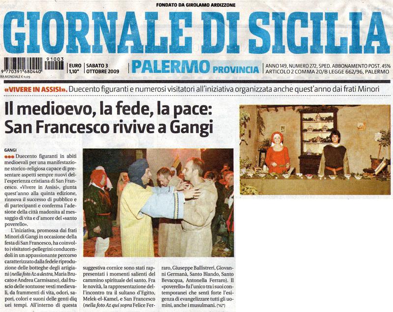 Giornale di Sicilia_3 ottobre 2009
